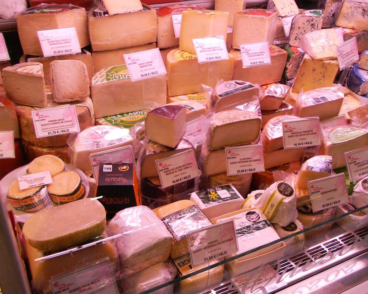 マドリードの市場 Mercado de la Paz_c0213220_7224081.jpg
