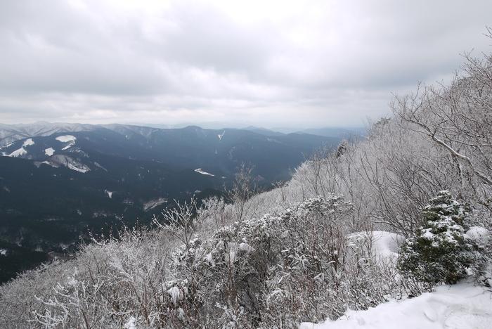 霧氷の高見山_e0214805_714560.jpg