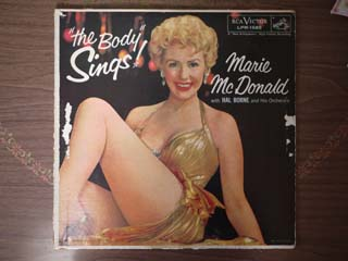 レコードジャケットの補修 ~ Marie Mcdonald / The Body Sings_d0102724_2238196.jpg