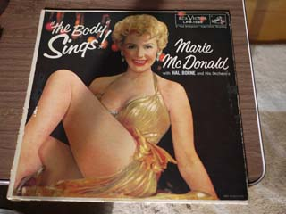 レコードジャケットの補修 ~ Marie Mcdonald / The Body Sings_d0102724_2252191.jpg