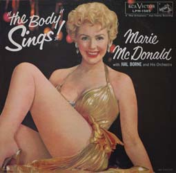 レコードジャケットの補修 ~ Marie Mcdonald / The Body Sings_d0102724_2312846.jpg