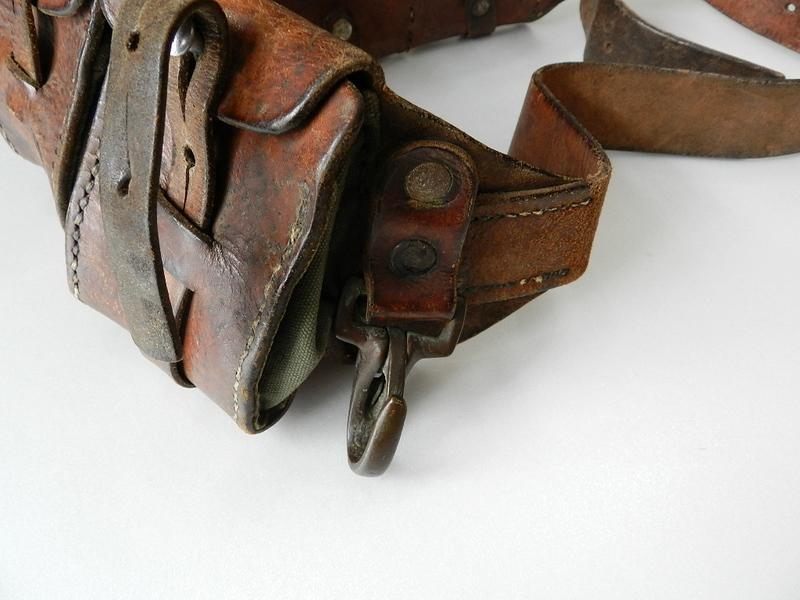 40\'s Swedish army leather bandaria_f0226051_1231523.jpg