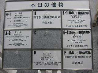 日本獣医画像診断学会 第50回記念大会_b0059154_19502526.jpg