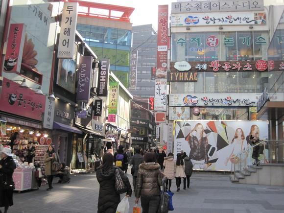 キムチっ子ツアー2011 ⑨ ホテル朝食~明洞コスメハント_f0236260_0414860.jpg