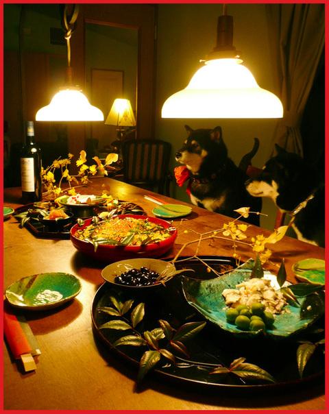 小正月。ぼたん家本格始動の夕ご飯。_e0236072_16234983.jpg