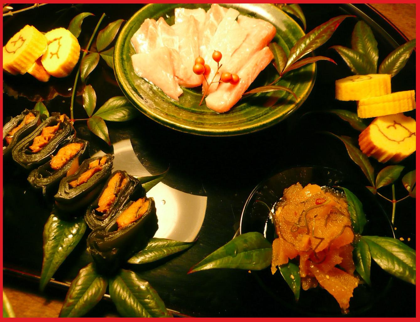 小正月。ぼたん家本格始動の夕ご飯。_e0236072_1628023.jpg
