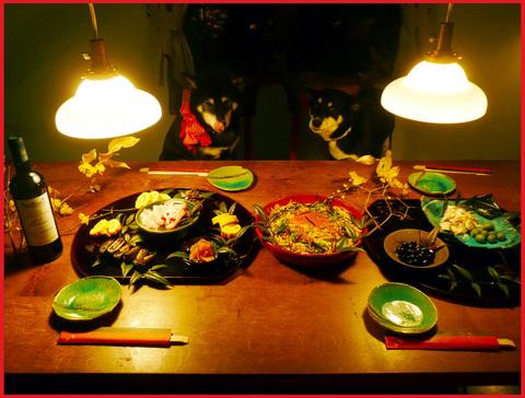 小正月。ぼたん家本格始動の夕ご飯。_e0236072_16293673.jpg