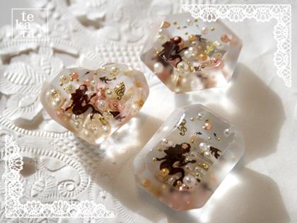 ダイソーのダイヤ型と指輪型製氷器で*_a0139874_12315297.jpg