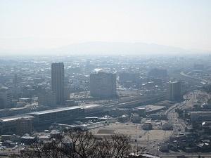 花岡山から眺めてみました_b0228113_17571823.jpg