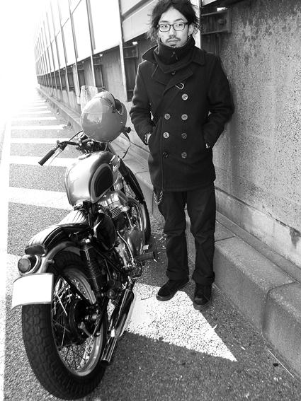 岩谷 広大 & kawasaki W650(2011 1222)_f0203027_12251060.jpg