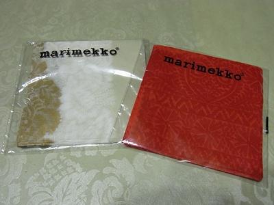 マリメッコのペーパーナプキン