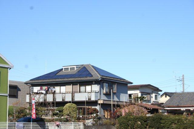 太陽光発電を設置したお客様宅で(東京都八王子市)_e0207151_18132612.jpg