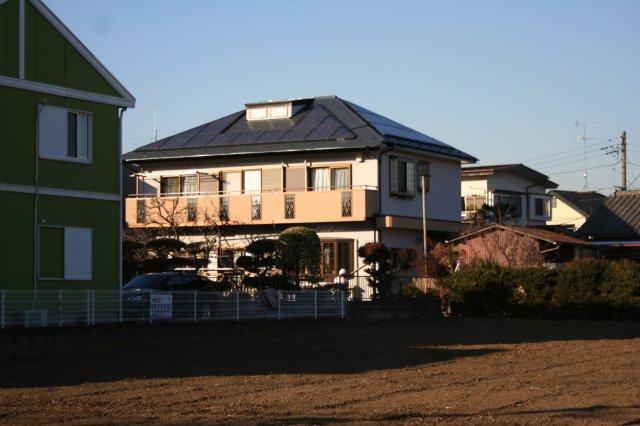 太陽光発電を設置したお客様宅で(東京都八王子市)_e0207151_18134929.jpg