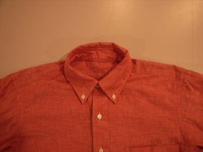 """TheThreeRobbers BOTTON DOWN COLLAR SHIRT RED CHAMBRAY\""ってこんなこと。_c0140560_12205711.jpg"