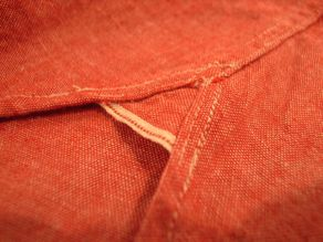 """TheThreeRobbers BOTTON DOWN COLLAR SHIRT RED CHAMBRAY\""ってこんなこと。_c0140560_122218100.jpg"