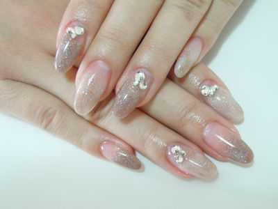 Marble Beige Nail_a0239065_17332717.jpg