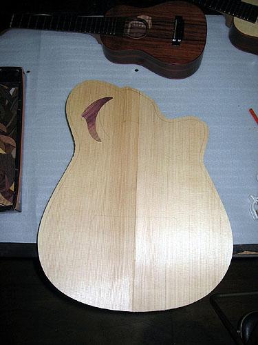 クワイエット・ギター(Quiet Guitar)製作中! その1_c0137404_744299.jpg