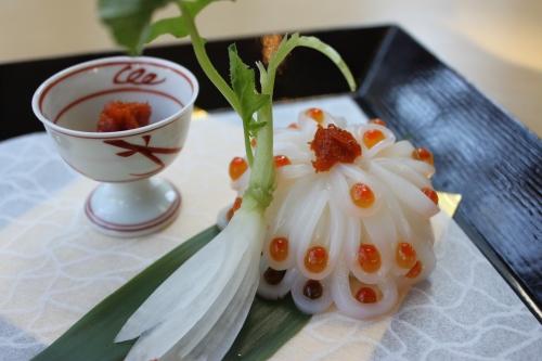 日本三大珍味「越前うに」を使った料理_f0229508_1716286.jpg