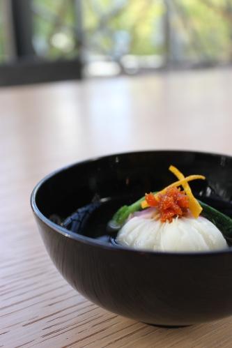 日本三大珍味「越前うに」を使った料理_f0229508_1717453.jpg
