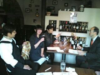 ワイン試飲会 999匹の羊_e0092612_1175695.jpg