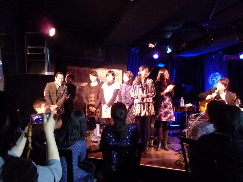法田勇虫 Winter Concert in Blues Alley Japan_f0209434_12104237.jpg