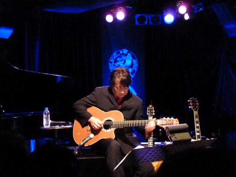 法田勇虫 Winter Concert in Blues Alley Japan_f0209434_1294837.jpg