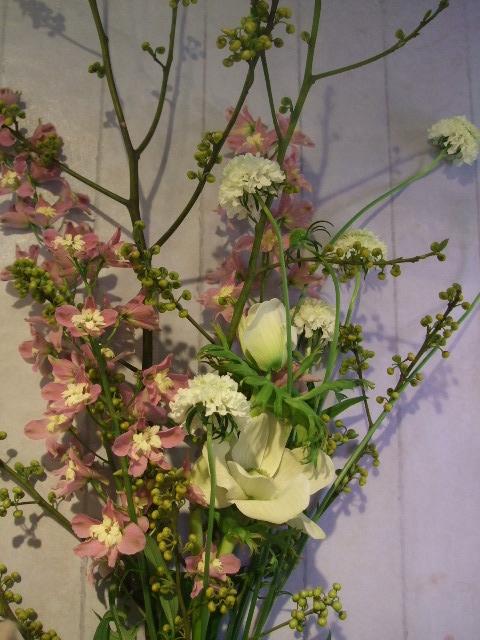 オークリーフ花の教室(落合さんの作品)_f0049672_1813088.jpg