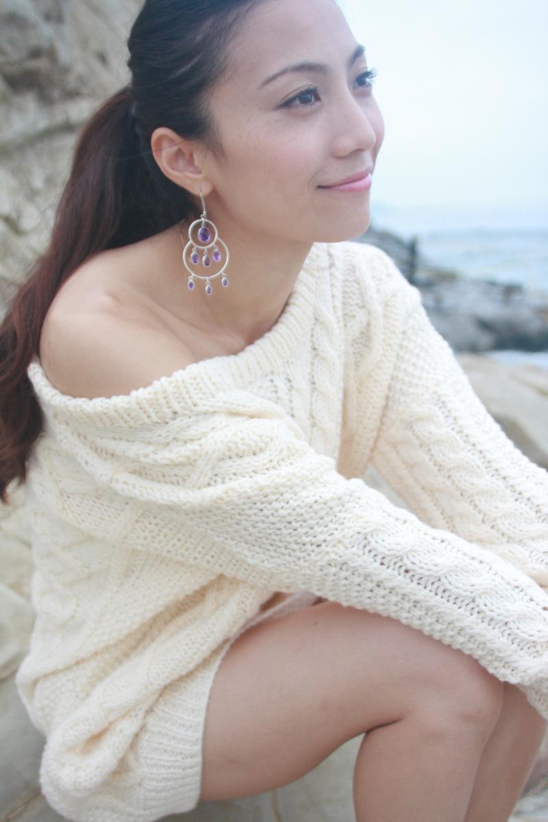 洋服が素敵な田中美里さん