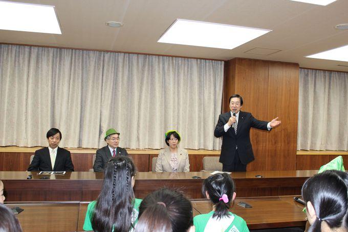 国際森林年子ども大使活動報告会_e0105898_1425731.jpg