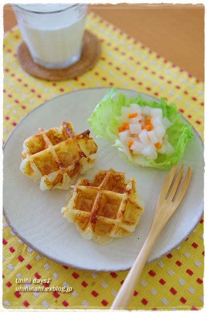 コロコロ大根とにんじんの柚子風味_f0179404_2028749.jpg