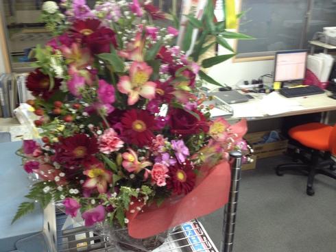 お花をいただきました。_d0085634_18333363.jpg