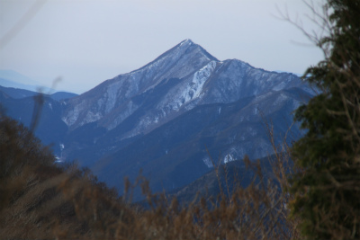 雪の三峰山 1235m   奈良県_d0055236_0183418.jpg