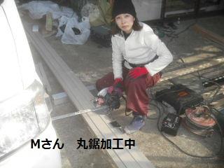 テラス屋根工事2日目 完成_f0031037_23145773.jpg