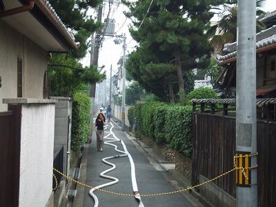 池田姫室町で火事_e0173645_1283442.jpg