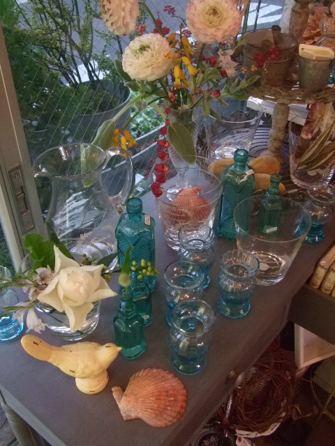 オークリーフ(水色のグラス)_f0049672_1552119.jpg