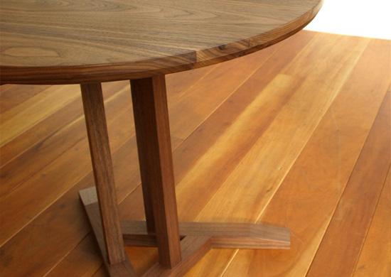 サイドテーブル、ウォールナット_e0115686_16152963.jpg