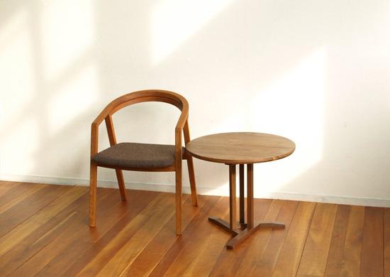 サイドテーブル、ウォールナット_e0115686_16152988.jpg