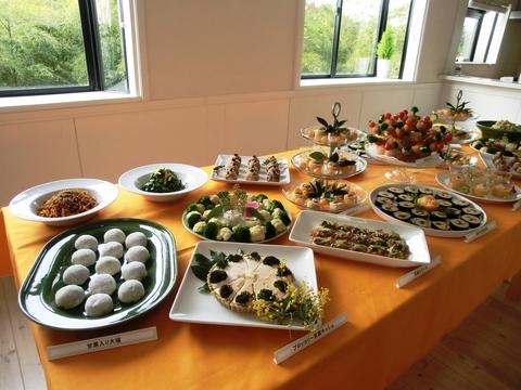 9期・卒業記念パーティーの料理_c0125702_11104860.jpg