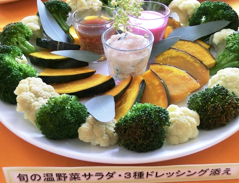 9期・卒業記念パーティーの料理_c0125702_1124243.jpg
