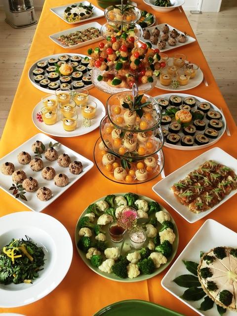 9期・卒業記念パーティーの料理_c0125702_11514851.jpg
