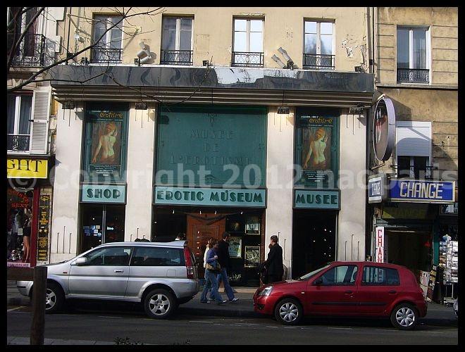 【MUSEE】エロチズム美術館Musee de l\'Erotisme (ピガール界隈)Paris_a0008105_16252021.jpg