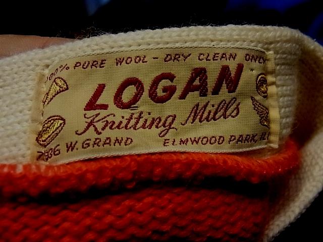 50\'S LOGAN Knitting Mills  レタード カーディガン_c0144020_18232986.jpg