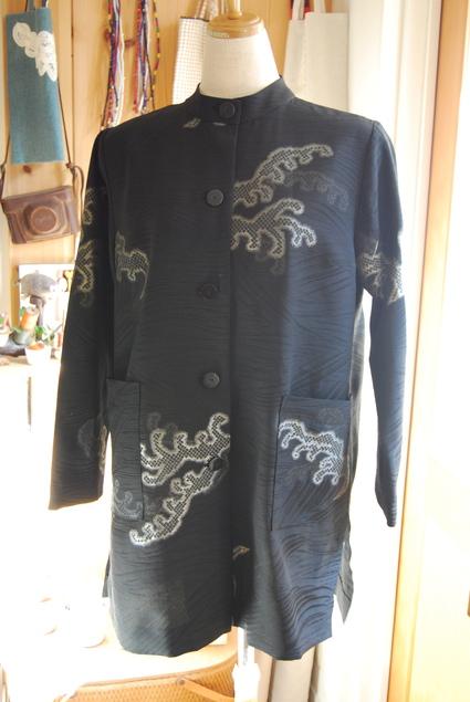 着物リメイク・羽織のチュニック_d0127925_15251367.jpg