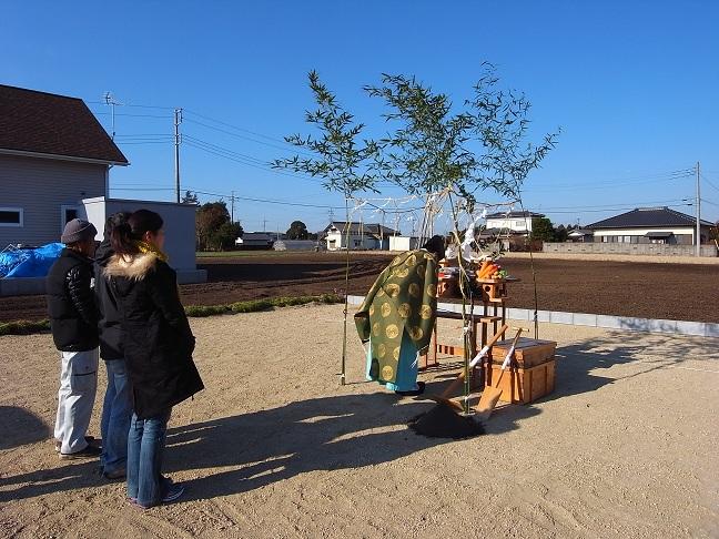 三反田の家 地鎮祭 2012/1/17_a0039934_1612652.jpg