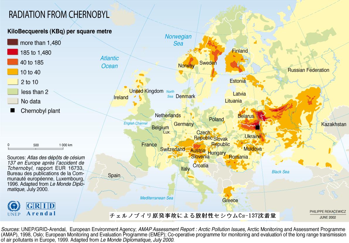 食品の放射性セシウムの新基準と牛乳、乳製品Ⅲ(チェルノブイリ、放射能汚染、放射能雲、フィンランド)_e0223735_838398.png