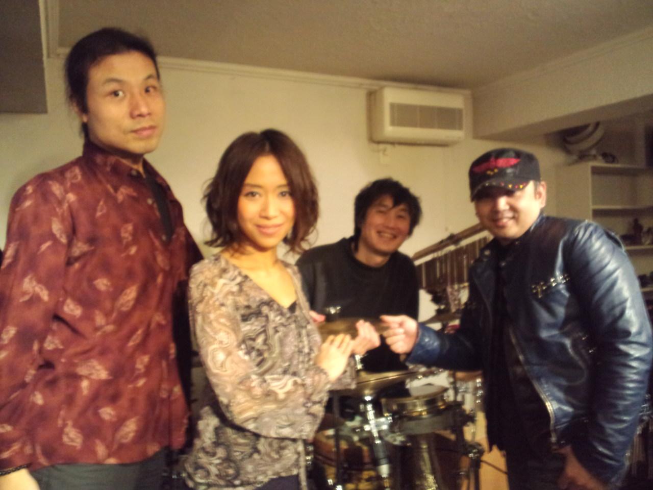 平松加奈con Armada新年ライブ!@大塚Greco_b0131865_3464549.jpg