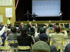 三津口、地域をあげての防災訓練_e0175370_9154649.jpg