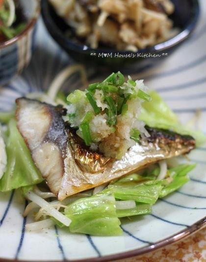 鯖の塩焼きワンプレート ☆ ごはんの食べ方♪_c0139375_15121530.jpg