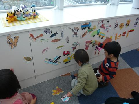 託児室楽しいね(^o^)_b0228113_17303072.jpg