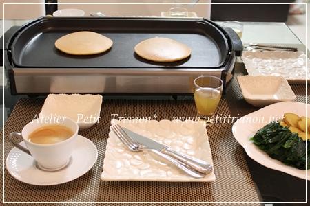 休日の朝食♪_c0162415_1201263.jpg